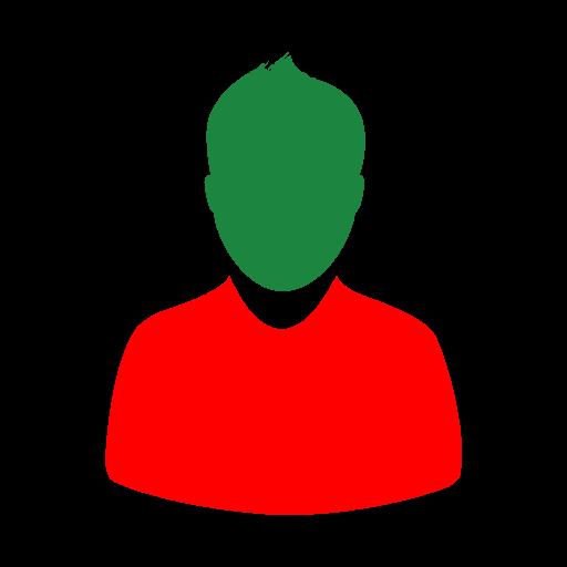 Avatar rouge vert